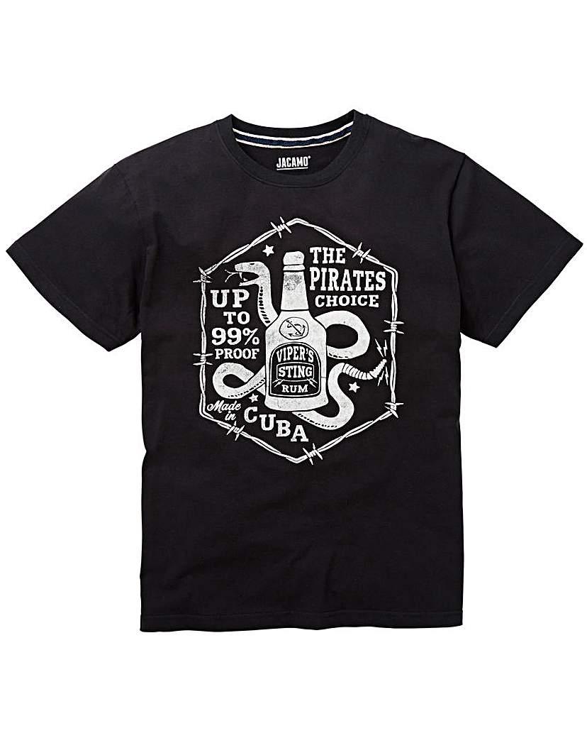 Jacamo Cuba Graphic T-Shirt Regular