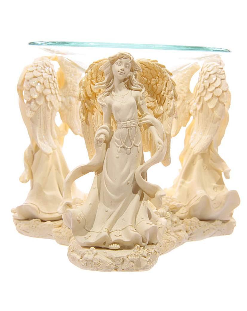 Celestial Triple Angel Oil Burner