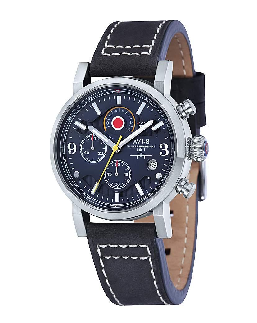 Image of AVI-8 Hawker Hurricane Watch - Black