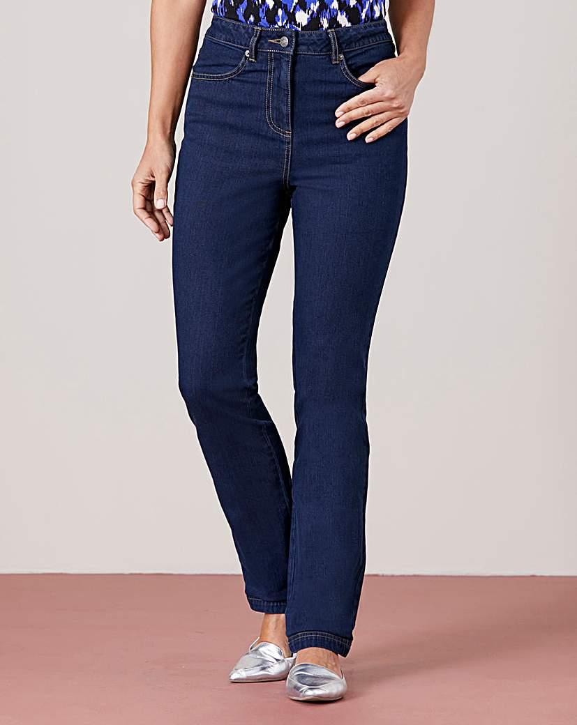 Image of Straight Leg Stretch Jean Regular