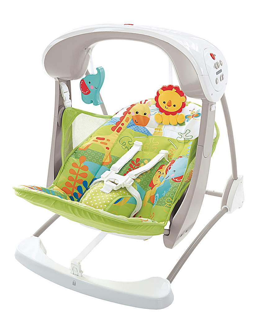 Image of Fisher Price Rainforest Take Along Swing