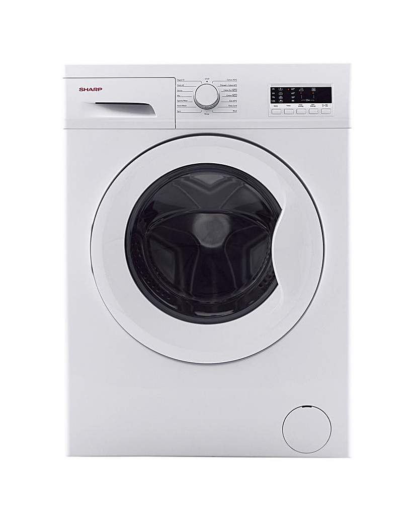 Image of Sharp 6kg Washing Machine, White