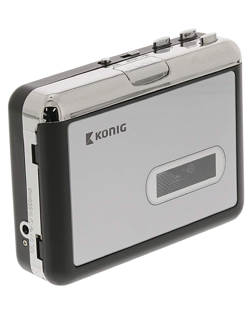 Konig USB Cassette Player MP3 Converter