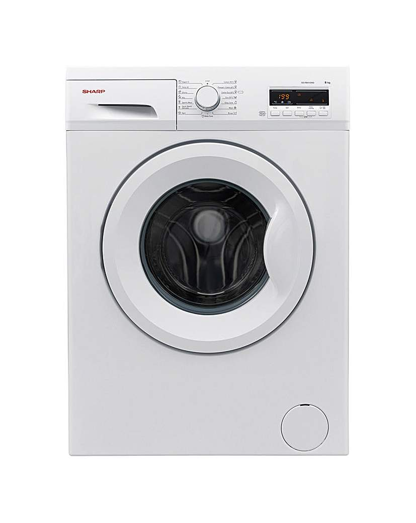 Image of Sharp 8kg Washing Machine