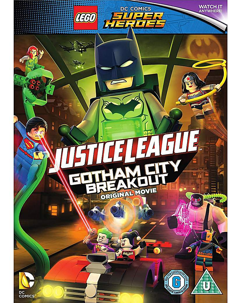 Lego Dc Justice League Gotham City