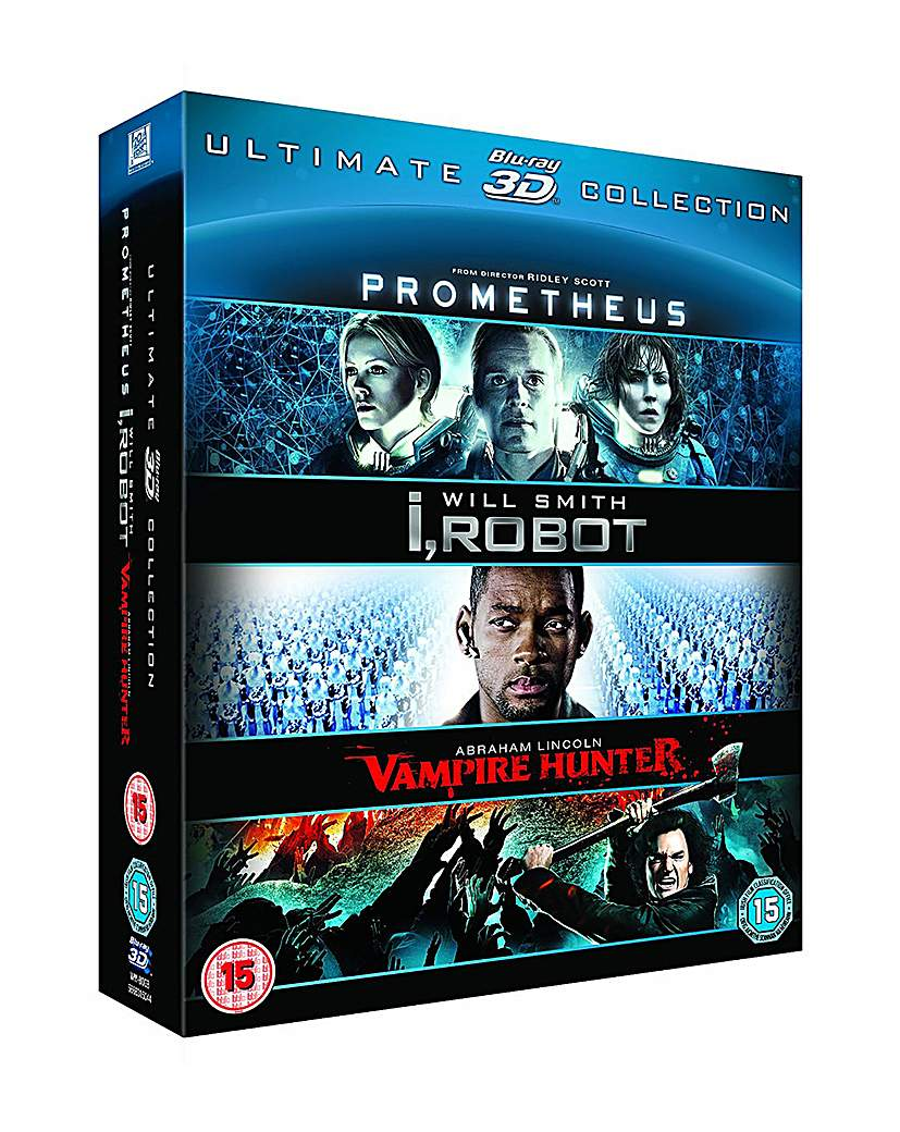 Prometheus  I Robot  Abraham Lincoln 3d