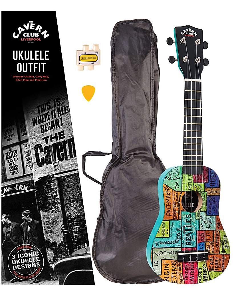 Image of Cavern Club Ukulele Outfit - The Wall