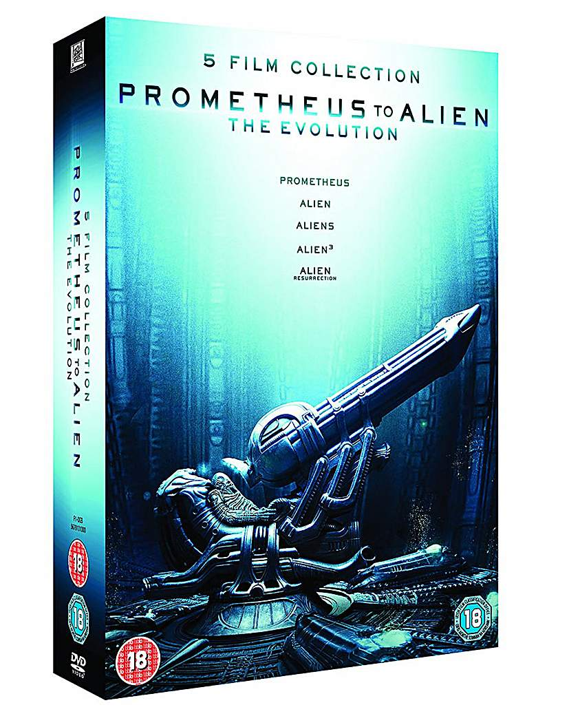 Prometheus to Alien  Box Set