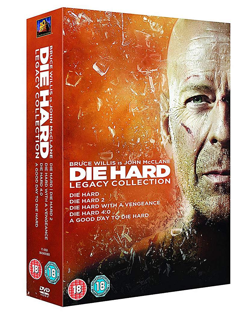 Die Hard 1 to 5 Legacy Collection