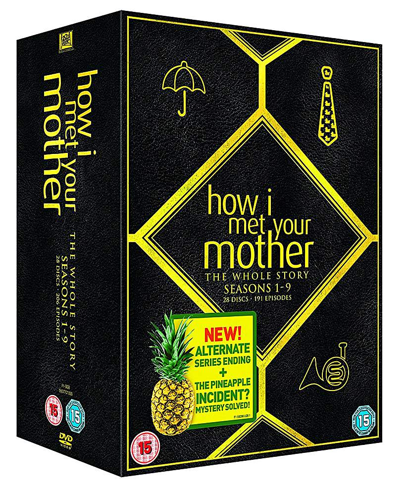 How I Met Your Mother Seasons 1 to 9