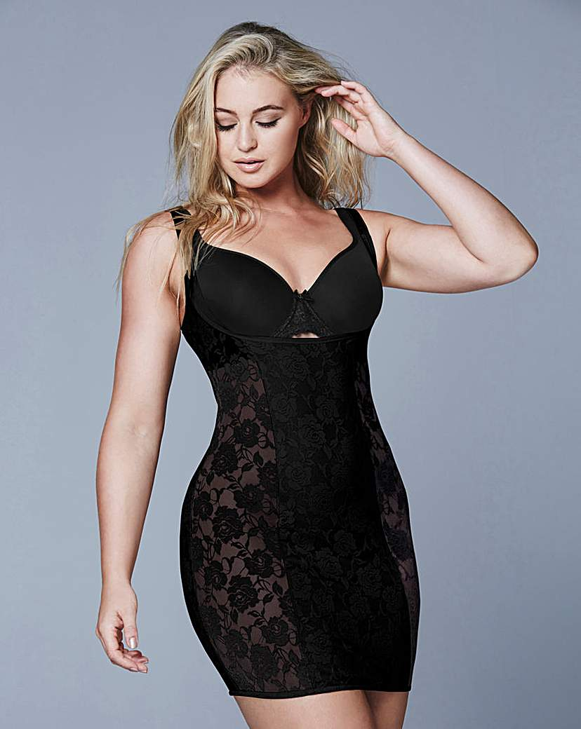 WYOB Lace Light Control Black Slip