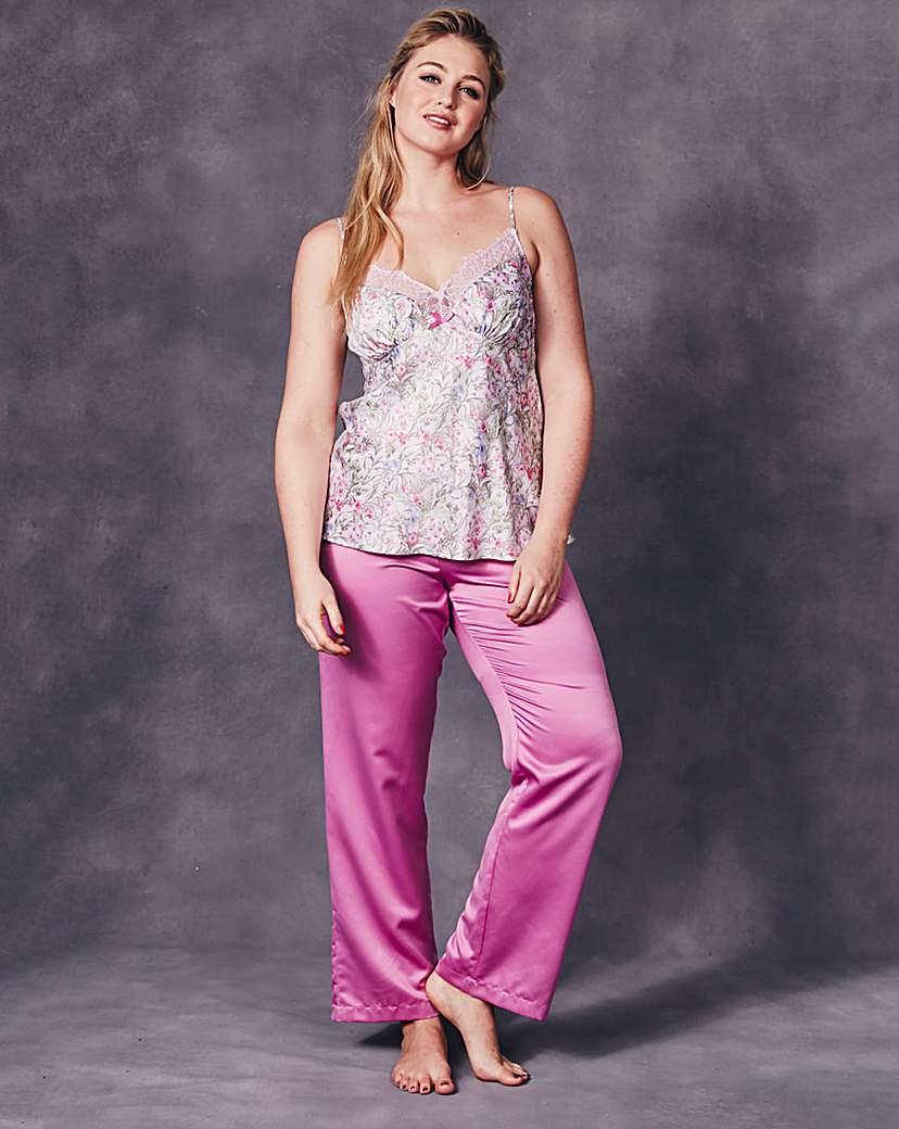 Image of JOANNA HOPE Satin Cami Pyjama Set