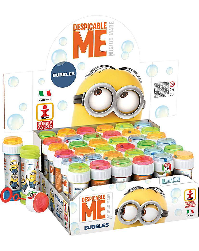 Image of Bubble Tubs Despicable Me 16 x 60ml