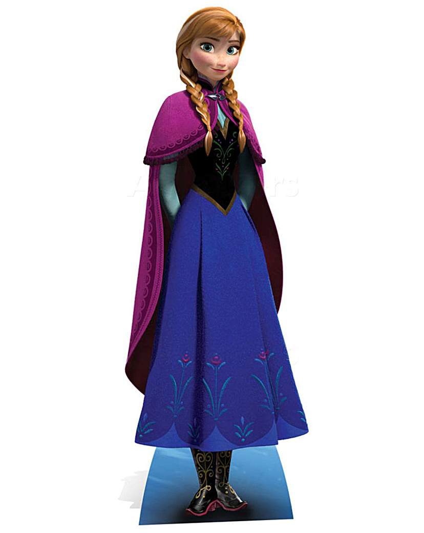 Product photo of Frozen anna life size cut out