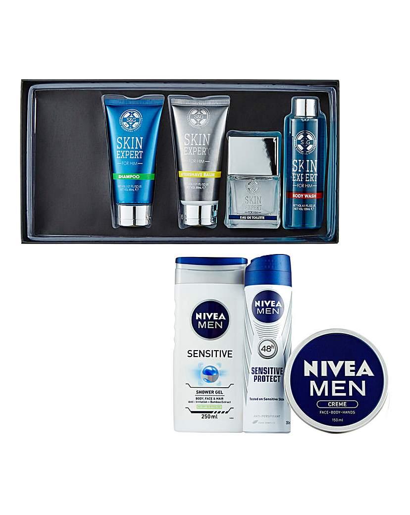 Skincare and Nivea Washkit Pack Duo