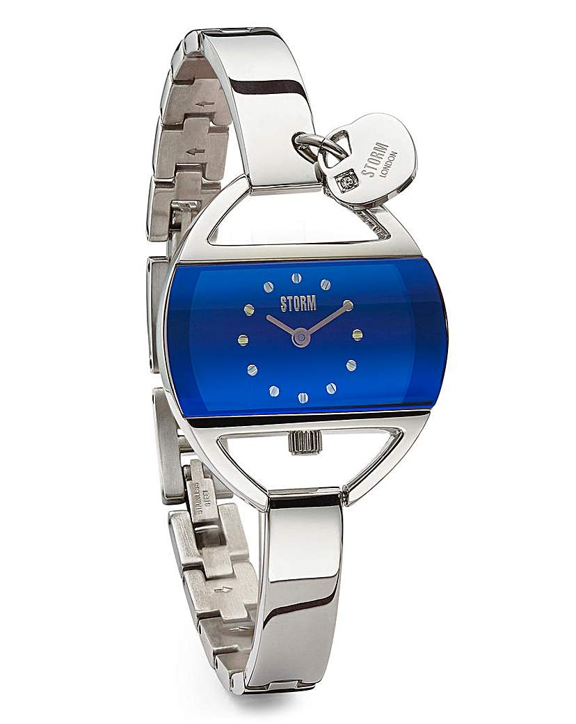 STORM Temptress Lazer Blue Watch