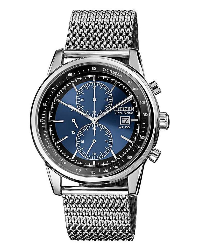 Image of Citizen Eco-Drive Mesh Bracelet Watch