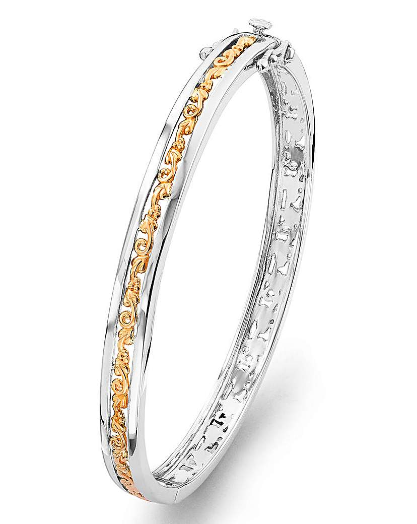 Clogau Silver & Gold Tree of Life Bangle