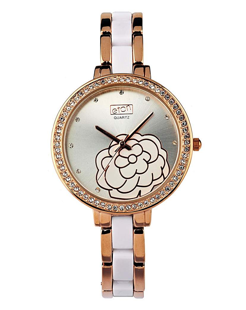 Eton Ladies Quartz Floral Watch