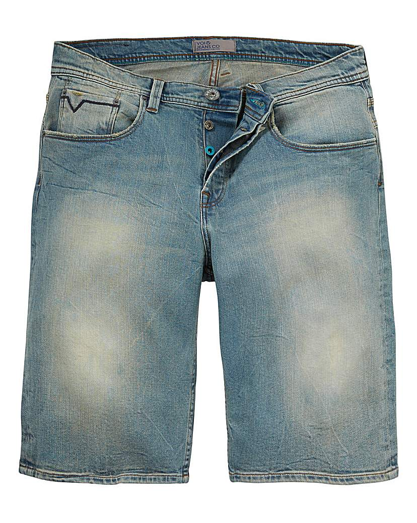 Voi Riley Denim Blue Short.