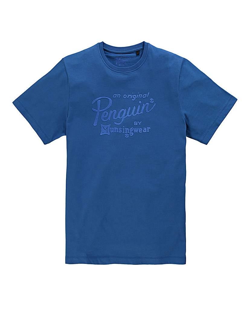 Image of Original Penguin Script T-Shirt Regular