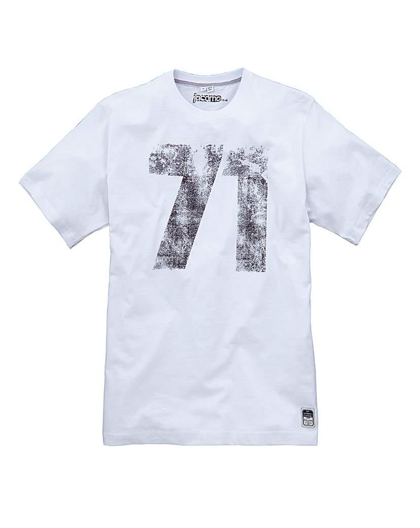 Image of Jacamo Shelby Graphic T-Shirt Long