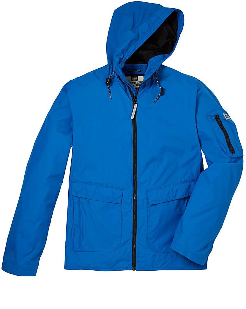 Weekend Offender Mistro Blue Jacket Long