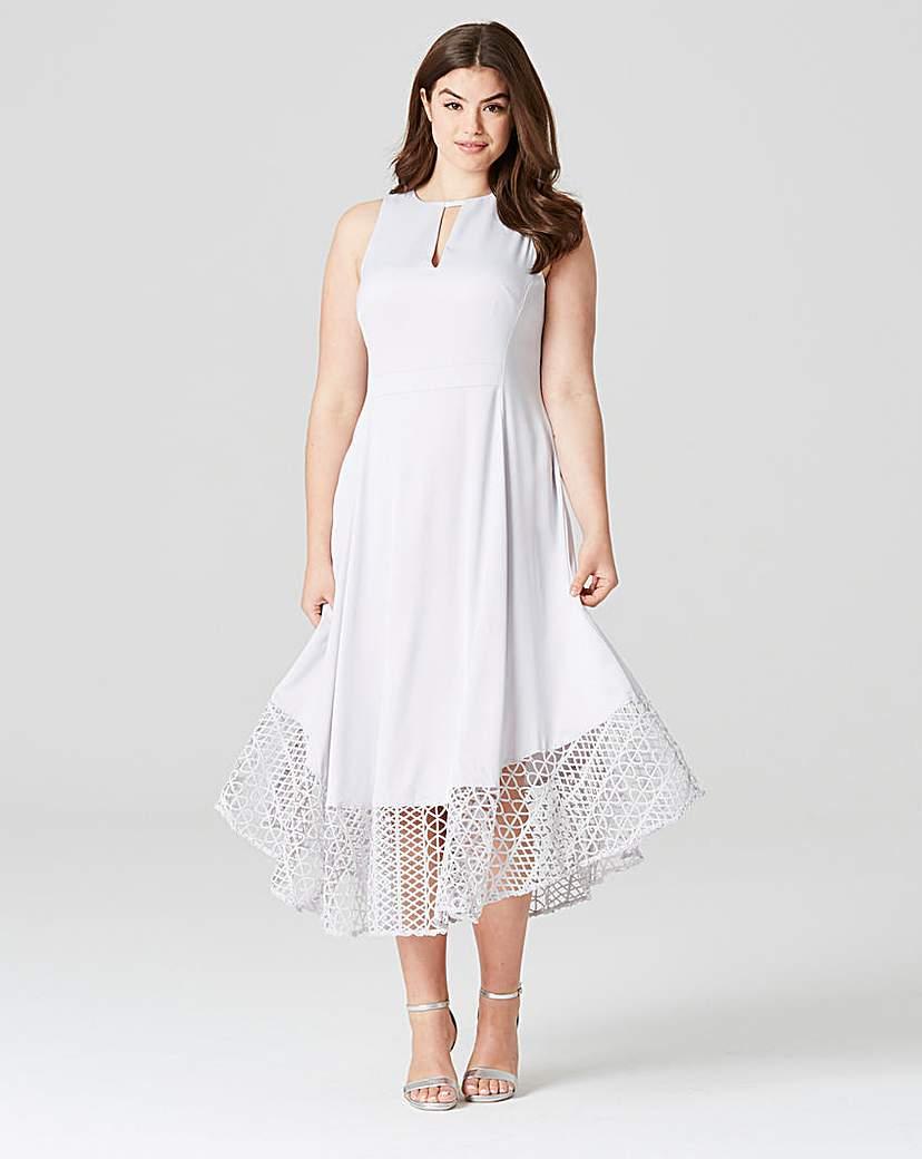 Coast Rach Rose Lace Dress.