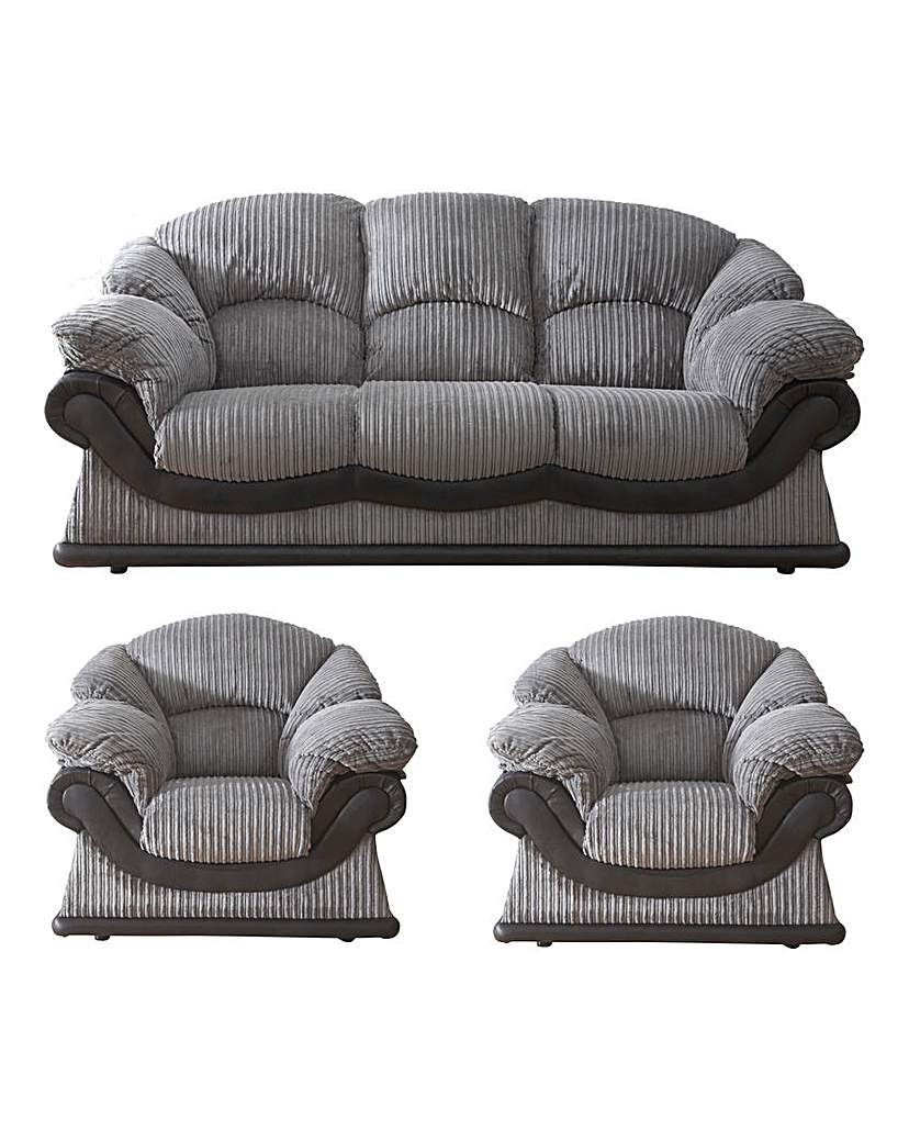 Warwick 3 Seater Sofa Plus 2 Chairs