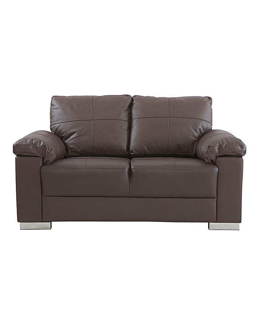 Ravel Leather 2 seater Sofa