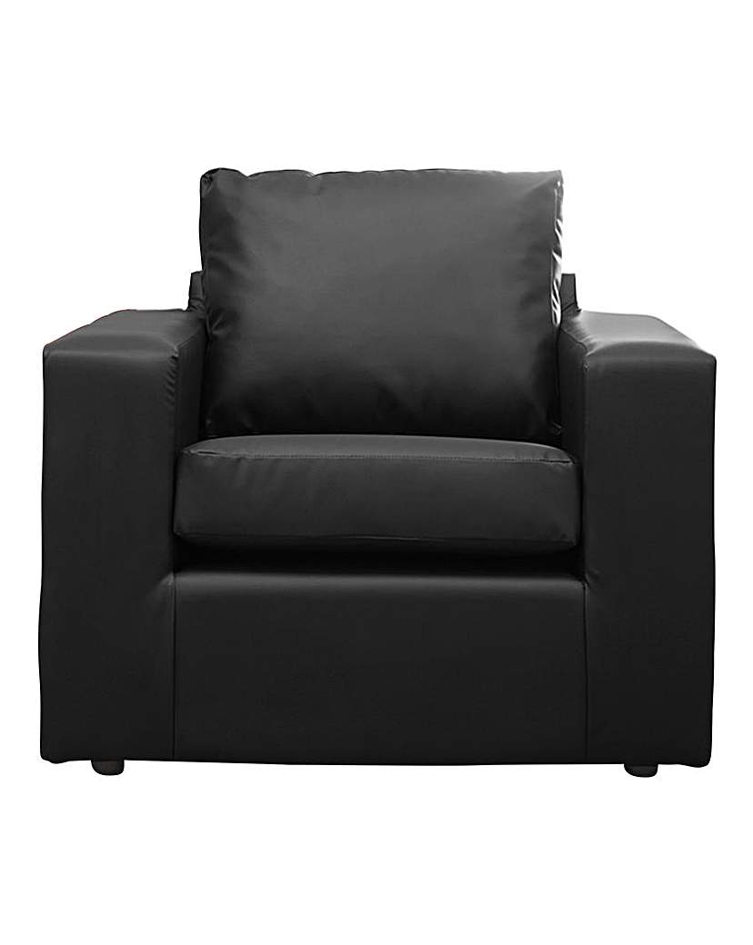 Image of Alicante Faux Leather Armchair