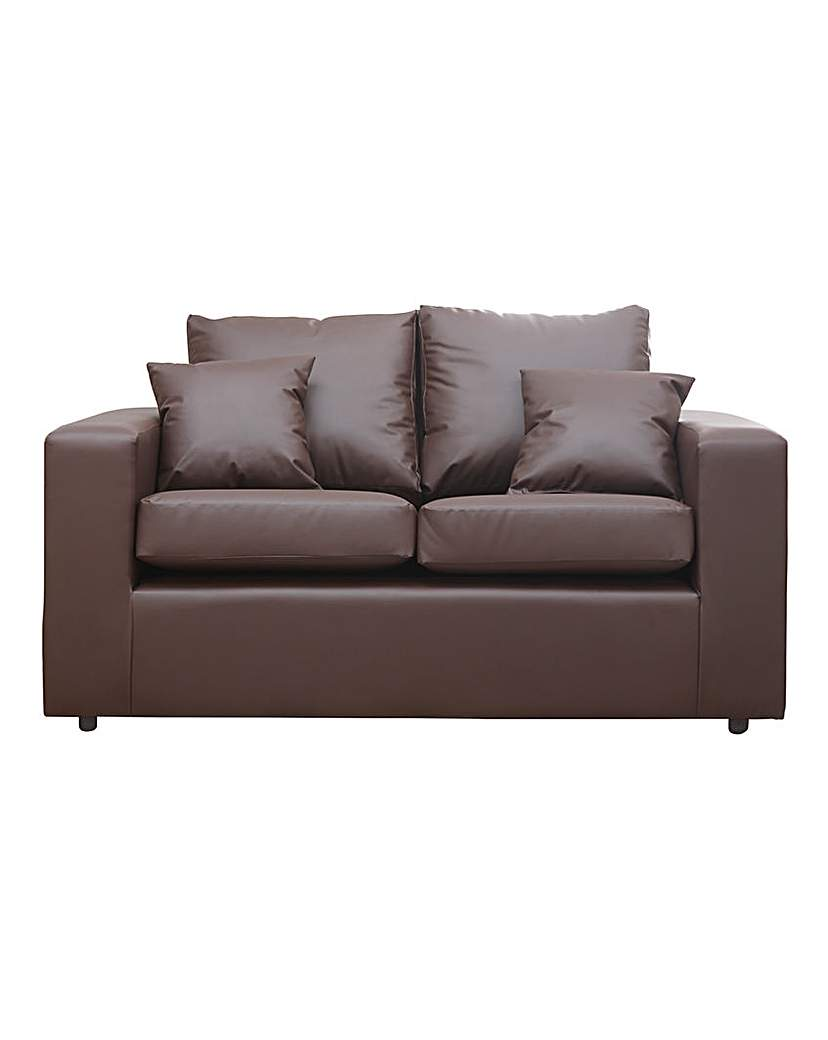 Image of Alicante Faux Leather 2 seater sofa