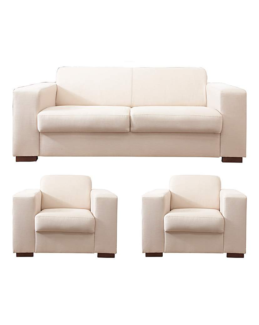 Memphis 3 seater Sofa plus 2 Chairs