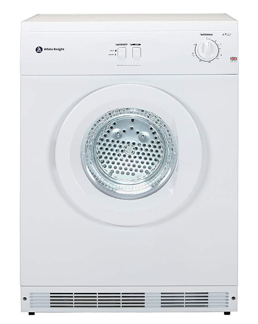 White Knight 7kg Reverse Tumble Dryer