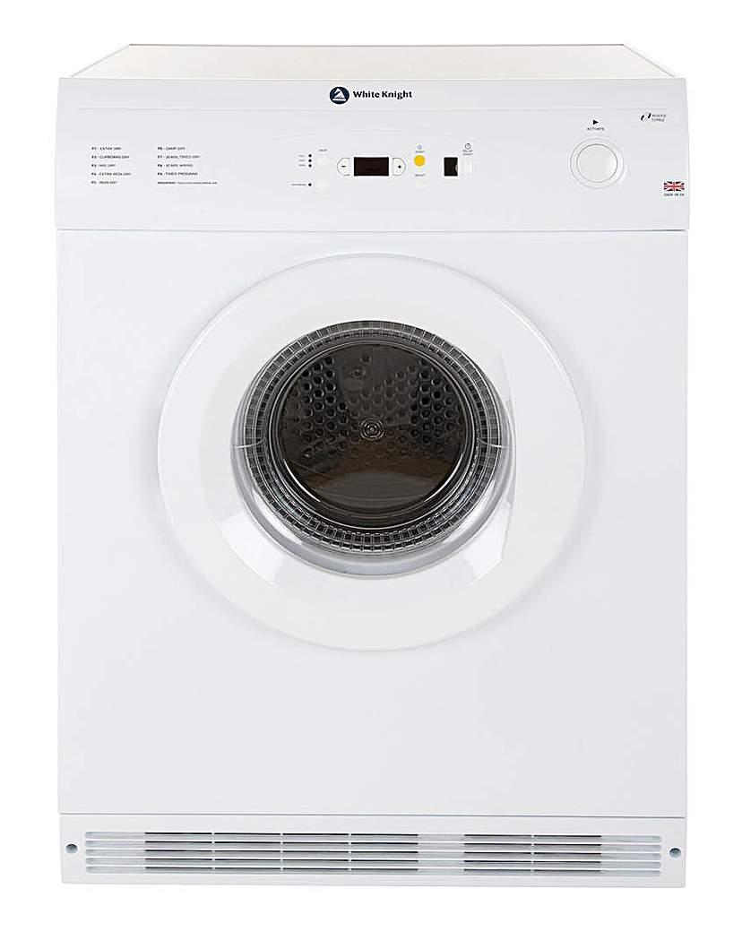 White Knight Vent 7kg Sensor Rev Dryer