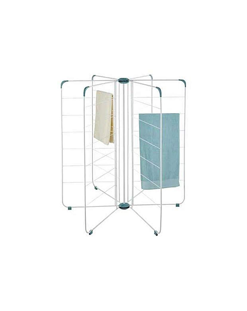 Product photo of Freestanding radial indoor clothes airer