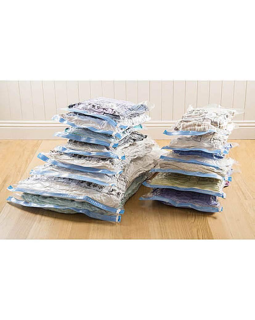Image of 14 Piece Flat Vacuum Bags