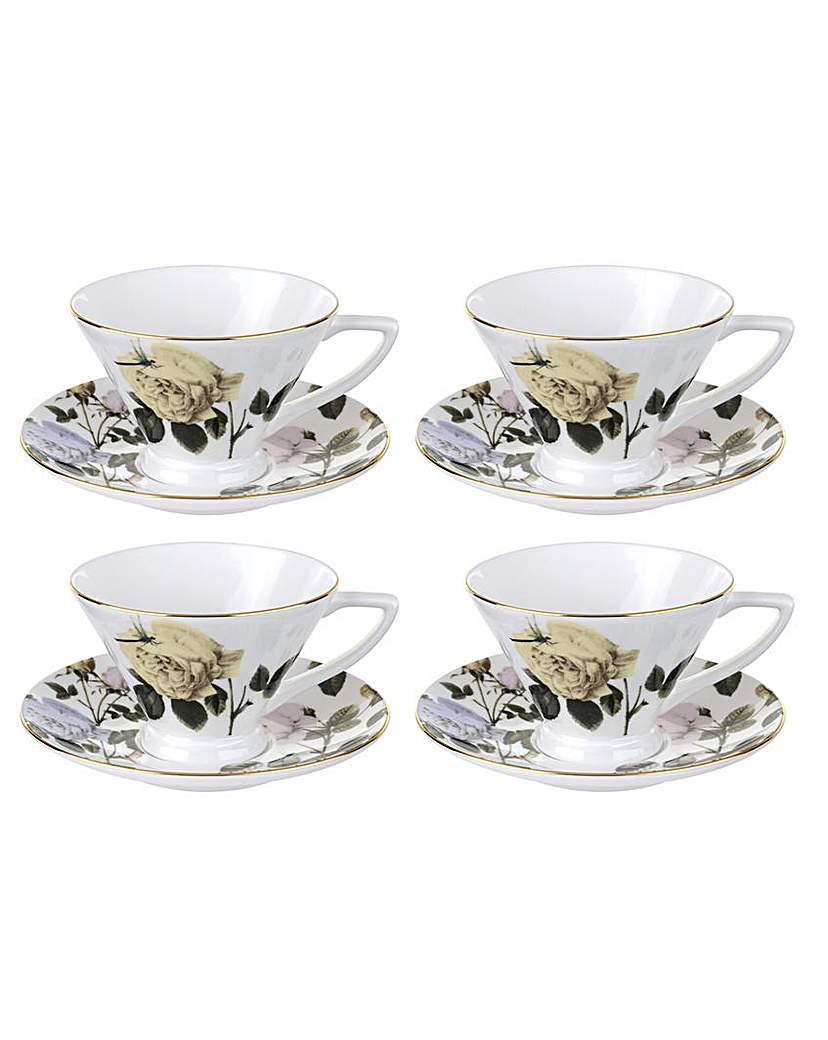 Image of Ted Baker, Tea Cup & Saucer - Rosie Lee