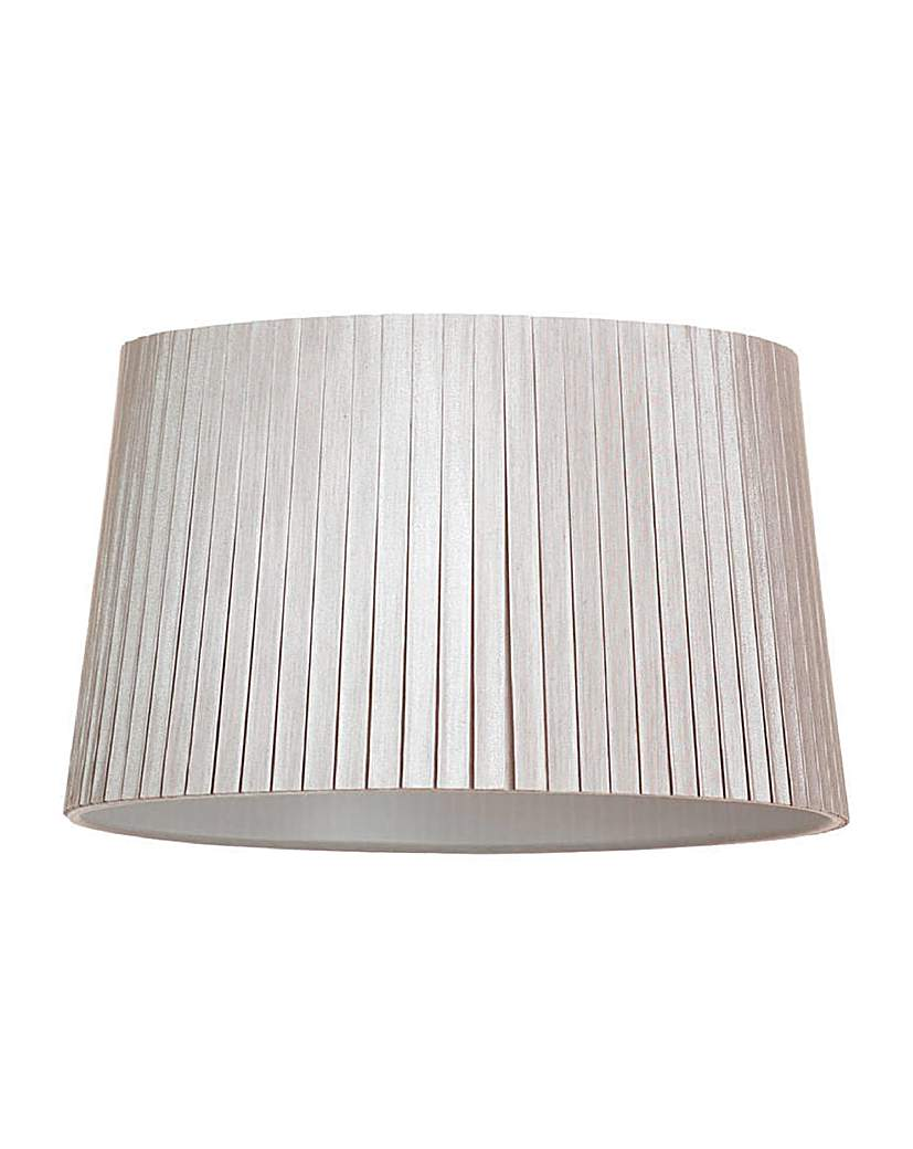 13 In Easy Fit Cylinder Shade - Mocha