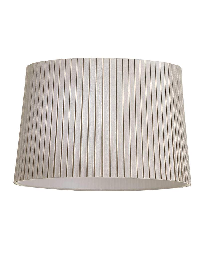 16 In Easy Fit Cylinder Shade - Mocha