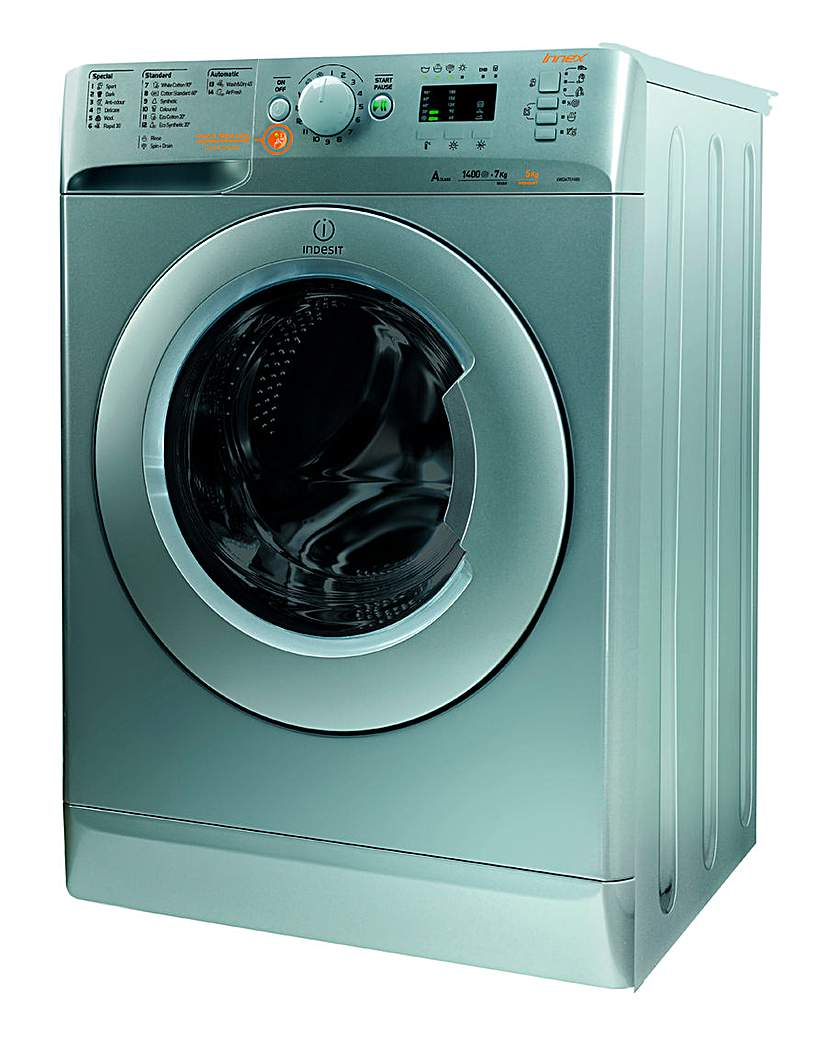 Indesit 7&5kg 1400rpm Washer Dryer