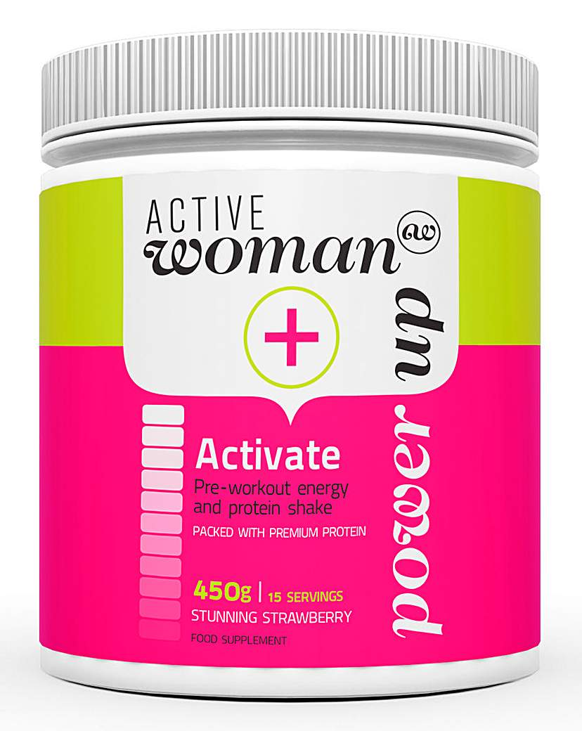 Image of Active Woman Strawberry Protein Shake