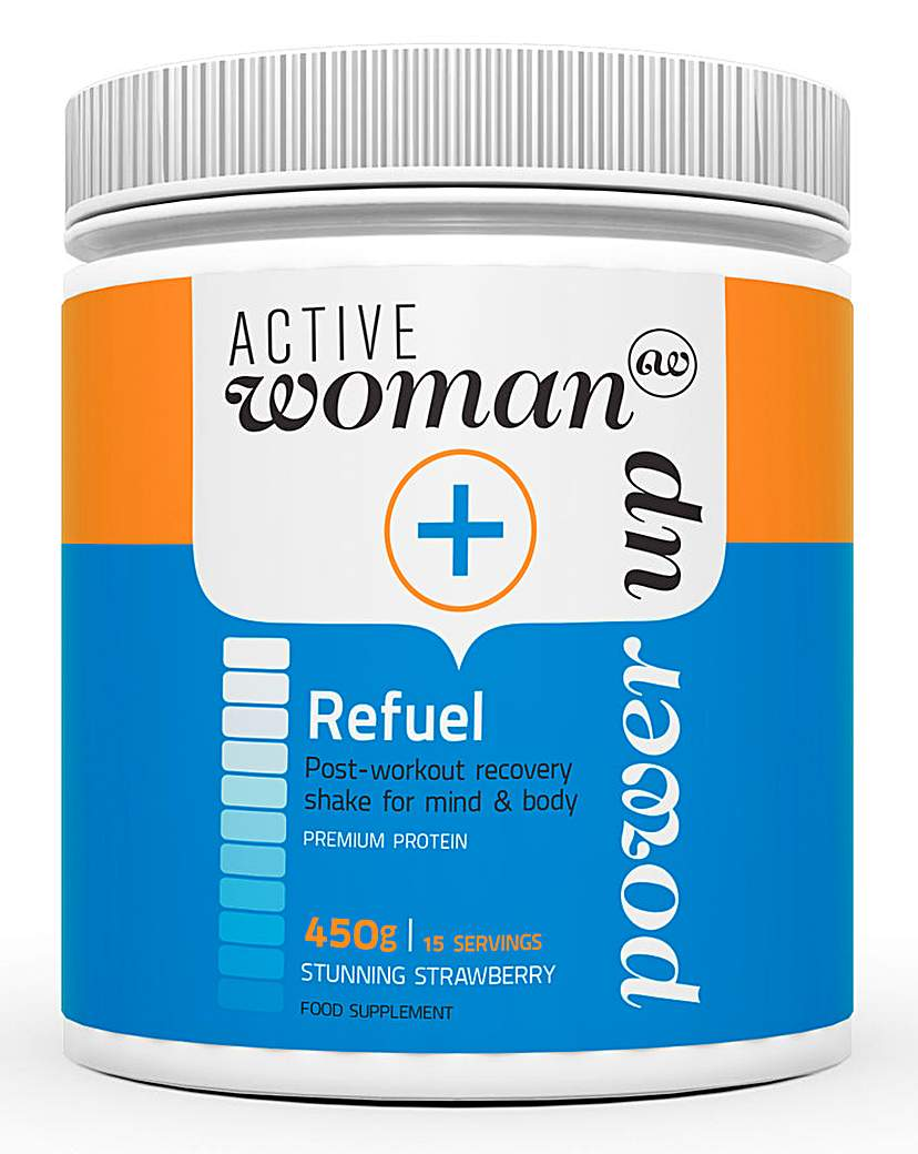 Image of Active Woman Strawberry Recovery Shake