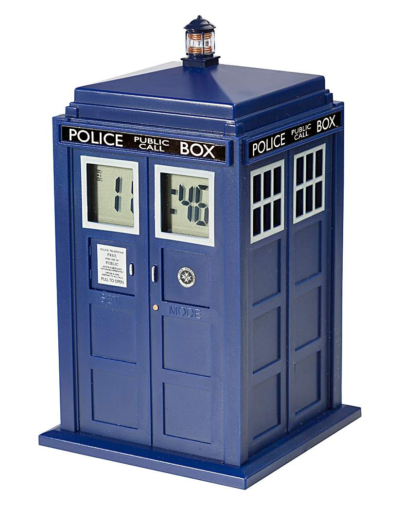 Image of Doctor Who Tardis Projection Alarm Clock