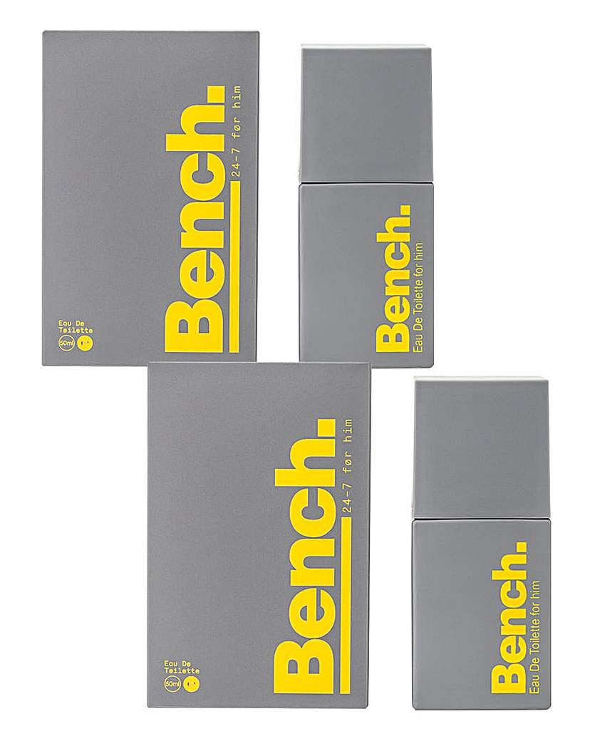 Image of Bench Gents 50ml BOGOF EDT