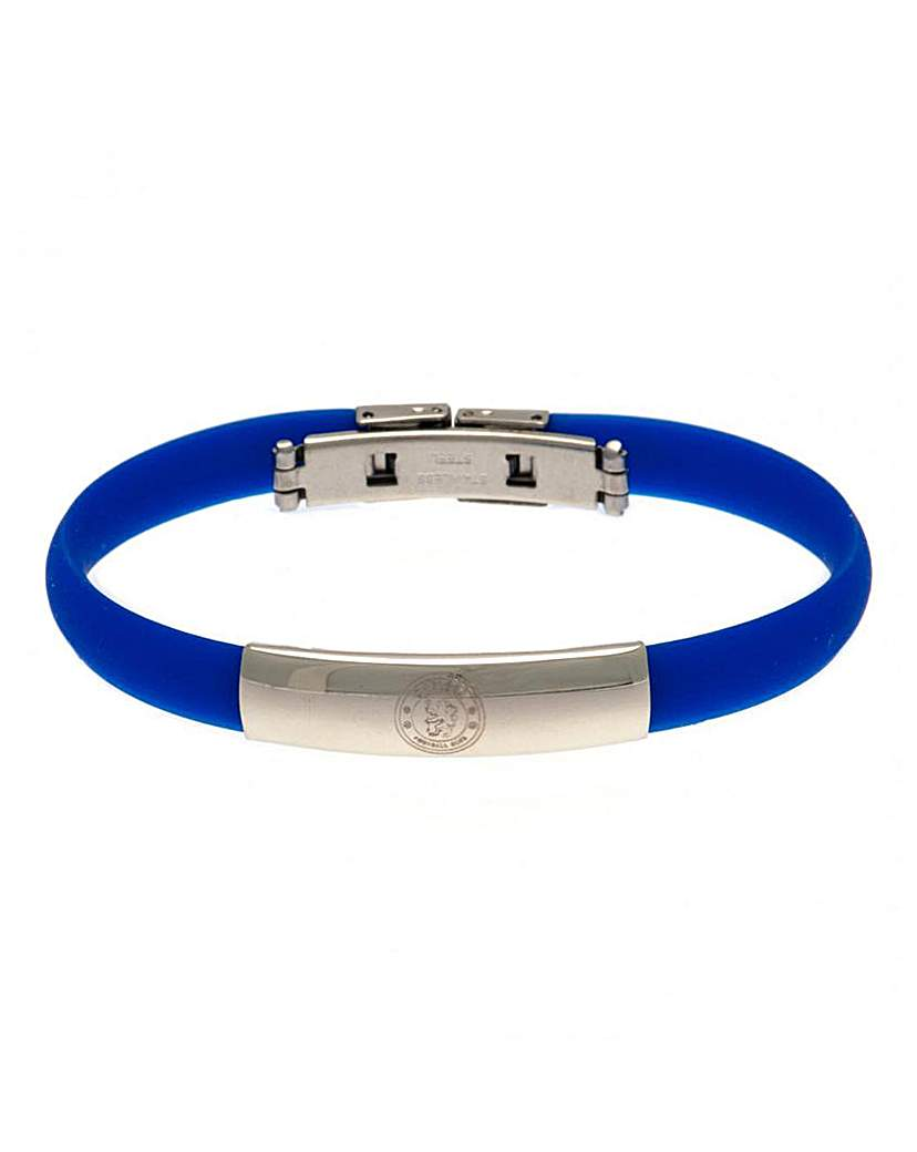 Football Crest Silicone Bracelet
