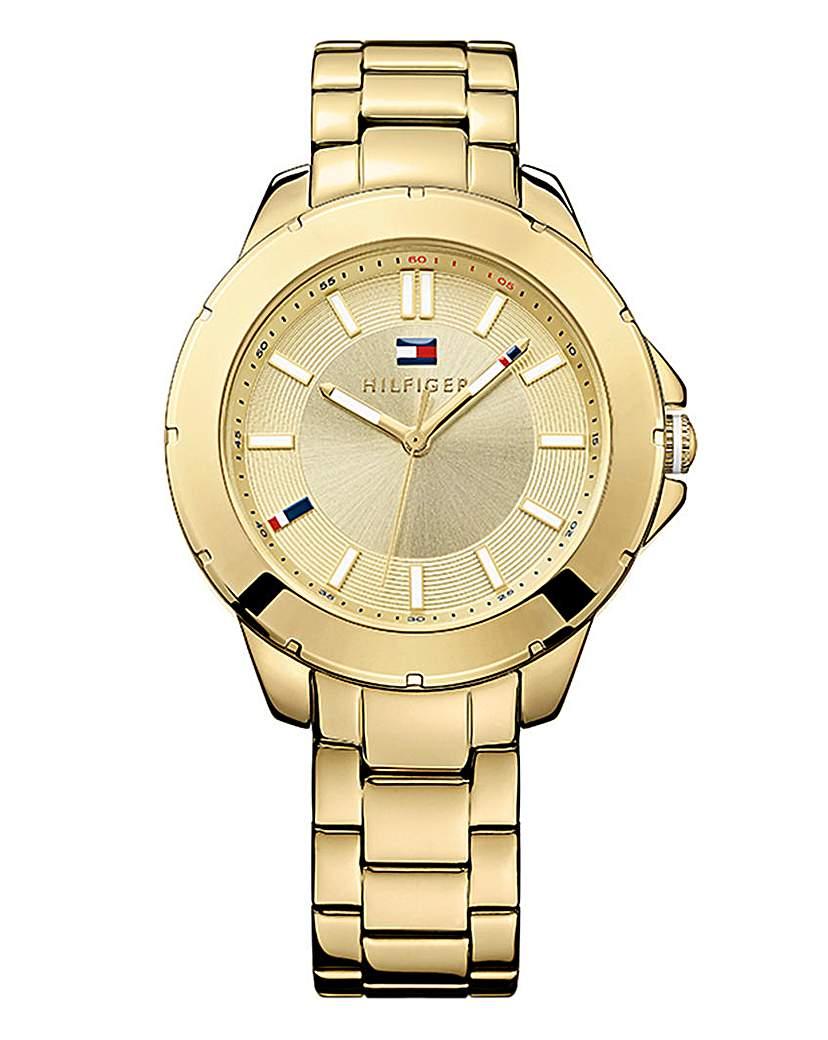 Tommy Hilfiger Gold-tone Bracelet Watch