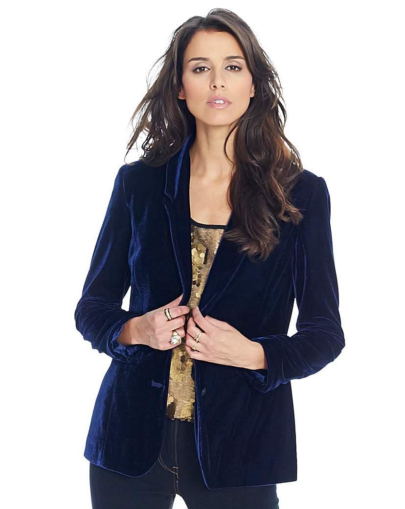 Product photo of Velour jacket