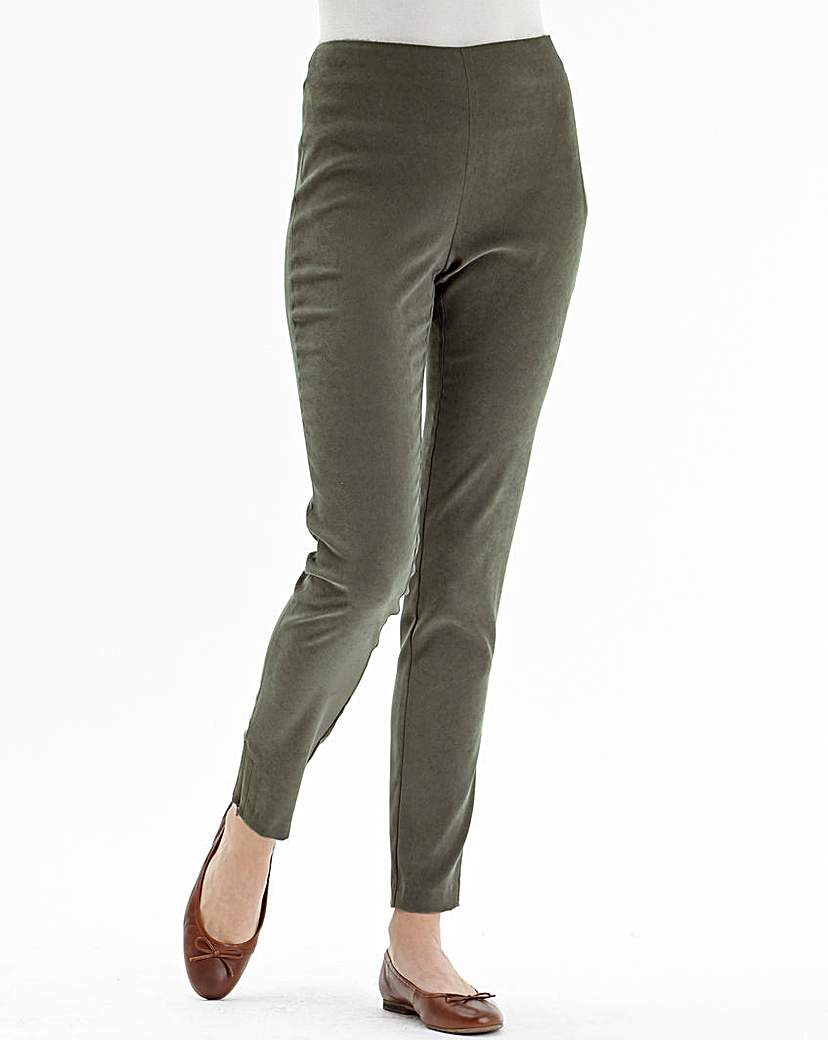 Nightingales Mock Suede Trouser.