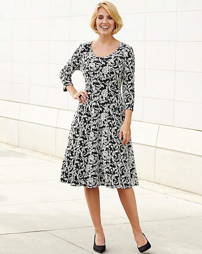 Nightingales Jacquard Dress